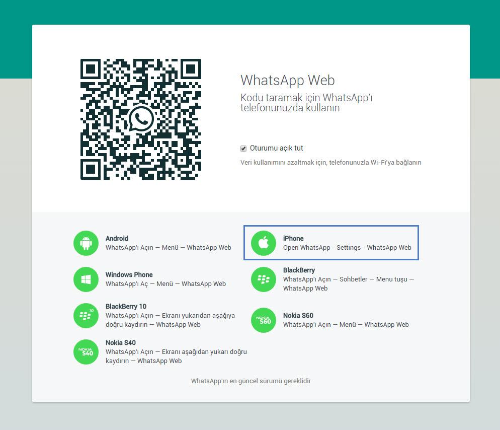 whasapp-web-iphone-destegi