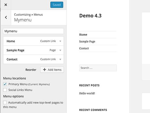 wordpress-customize-menu